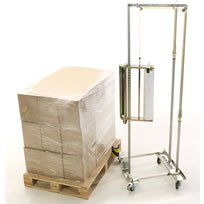 GoodPack R-Wrapper Manual Stretch Wrapping Trolley