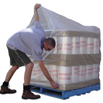Pallet Bags for shrinking over pallets